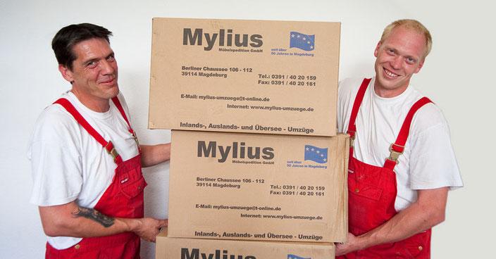 Mylius-Umzug Magdeburg Möbelspedition