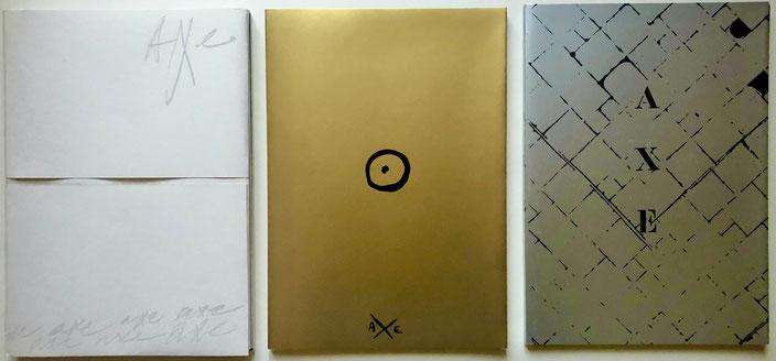 Guy Schraenen (ed.): Revue Axe, 1975-76