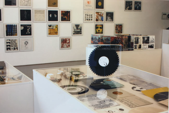 Guy Schraenen Vinyl exhibition