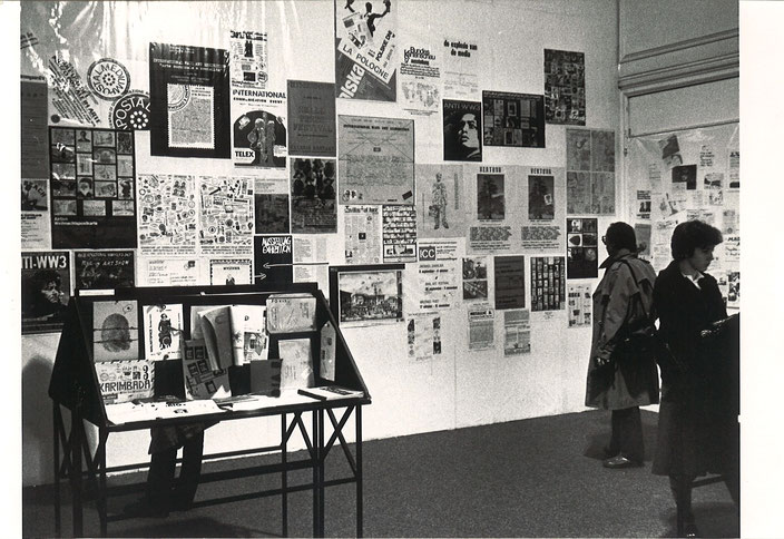 International Mail Art Festival, I.C.C. Antwerp 1981. It was the first and last major retrospective exhibition devoted to postal art of the 1970s.