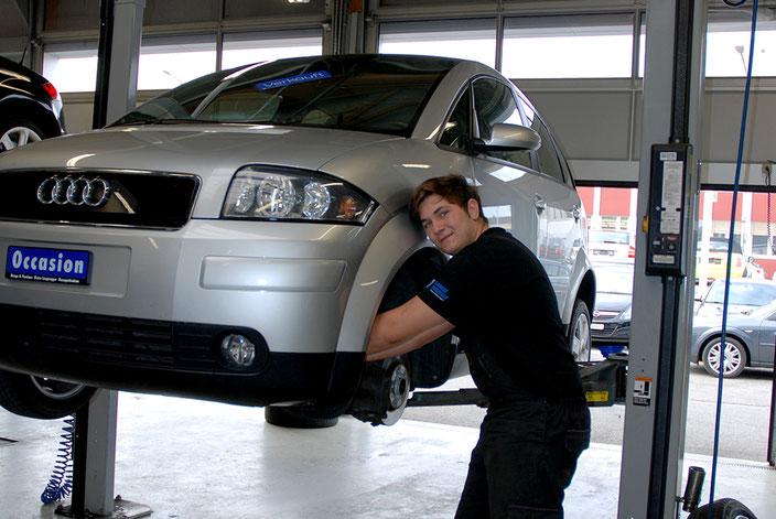 Servicearbeiten - Garage Pneuhaus Bruno Langenegger Herzogenbuchsee