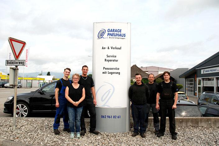 Team - Garage Pneuhaus Bruno Langenegger Herzogenbuchsee