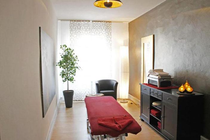 Wellness und Massage Raum