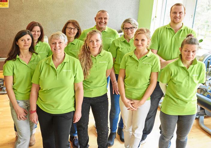 Unser Team vom Gesundheitscenter Hörger