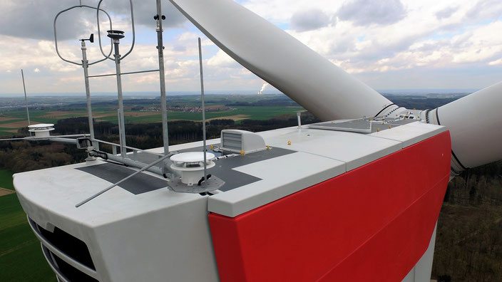 WEA 1 an der A8 im Windpark Jettingen-Scheppach/Zusmarshausen