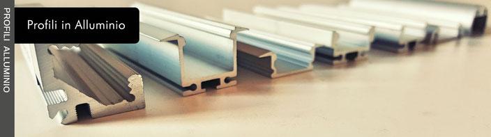 Profili in alluminio per illuminazione led Nauled