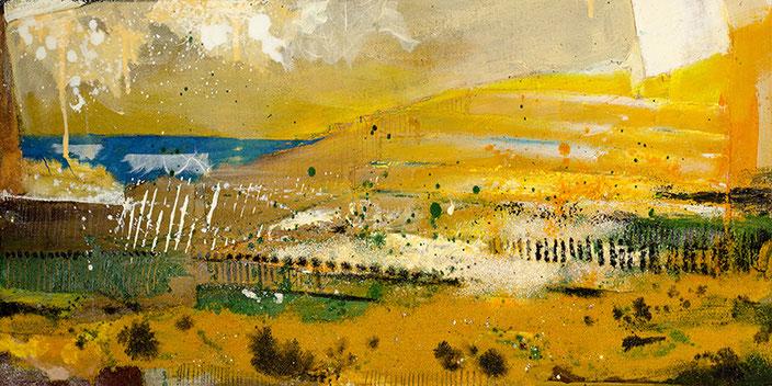 Golden Mystery, #Eitempera #Jopie #Bopp #Element #Erde #abstrakt #Abstraktemalerei