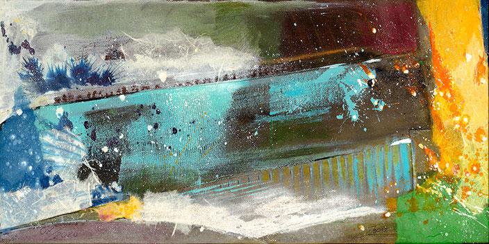 Fire and Ice, #Eitempera #Jopie #Bopp #Element #Erde #abstrakt #Abstraktemalerei