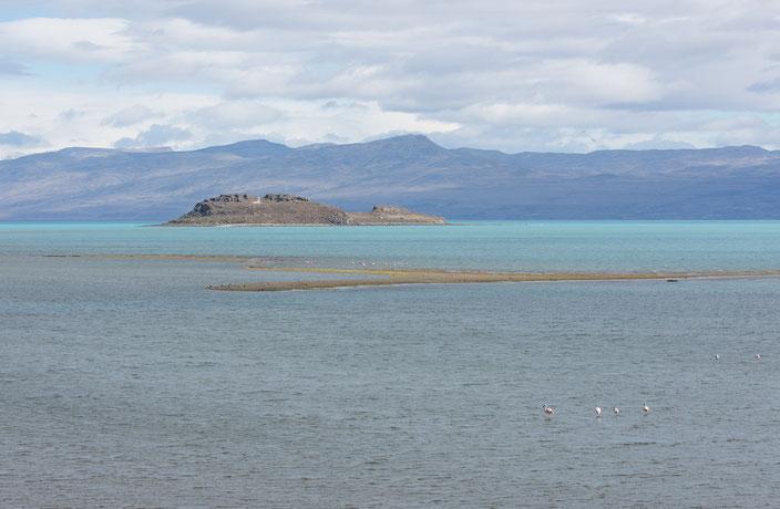 Das Reservat und seine Anhöhen bieten zudem ein großartigen Ausblick auf den Lago Argentino.