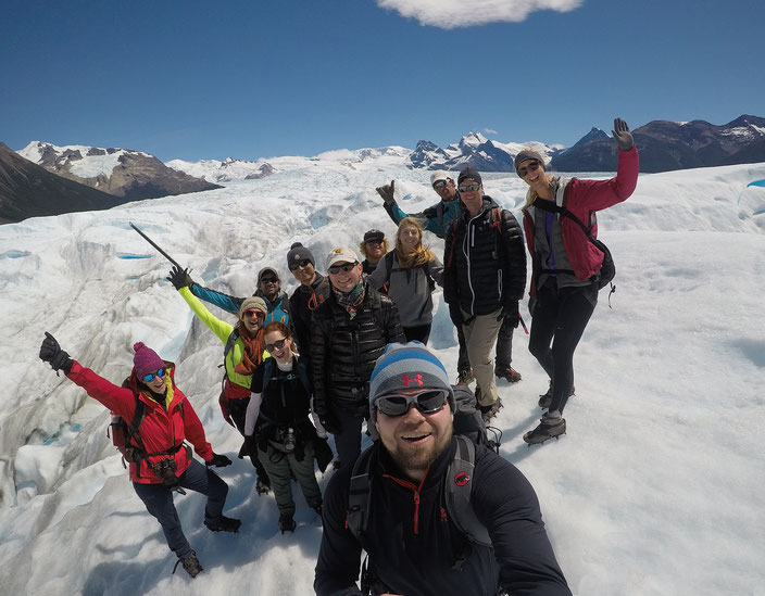 Hielo y Adventura - Big Ice Hike Gruppe