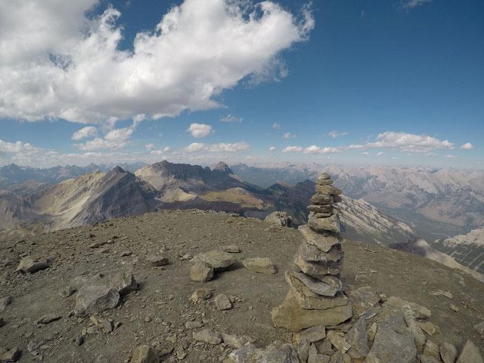 Aussicht vom Mount Bourgeau