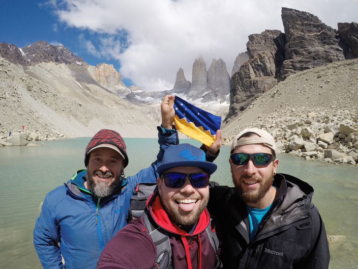 Hernan (Guide), Marcus, Felipe (Guide)