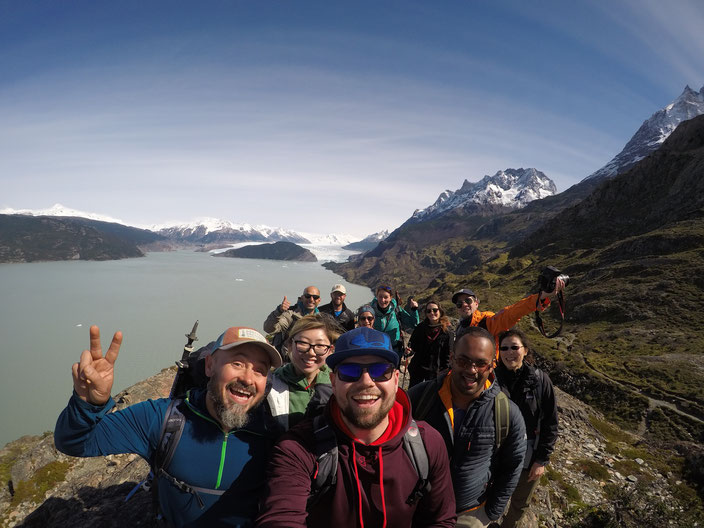 Eco Camp Team - Grey Gletscher