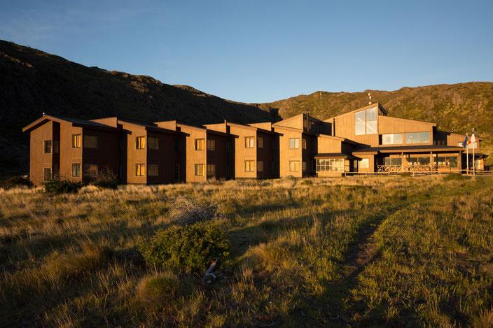 Refugio Grande Paine - die Unterkunft für diejenigen, die nicht im Zelt schliefen.