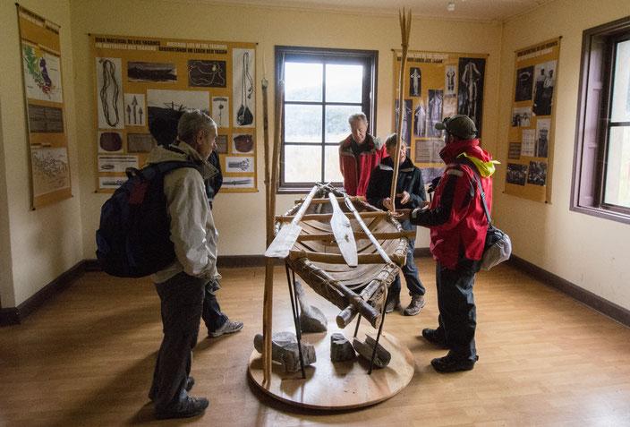 Museum in der Wulaia Bucht