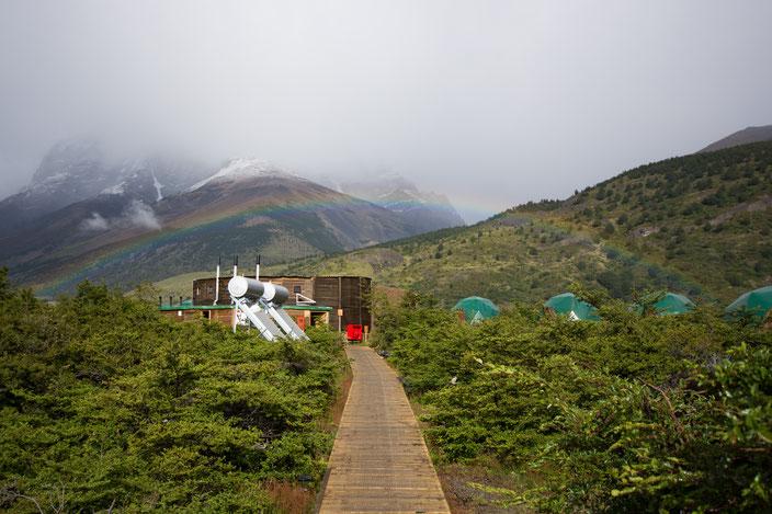 Ein wunderschöner Abschied vom Eco Camp.