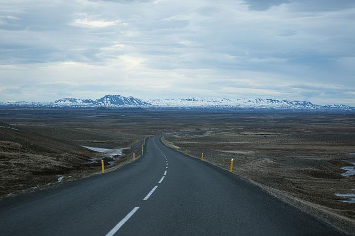 Highway 1 - auf dem Weg nach Myvatn