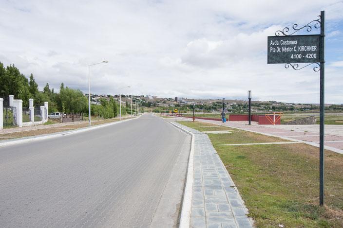Entlang der Promenade findet man sehr viele Spielplätze und Sportgeräte.
