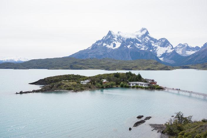Lago Pehóe - Rückweg zum Camp