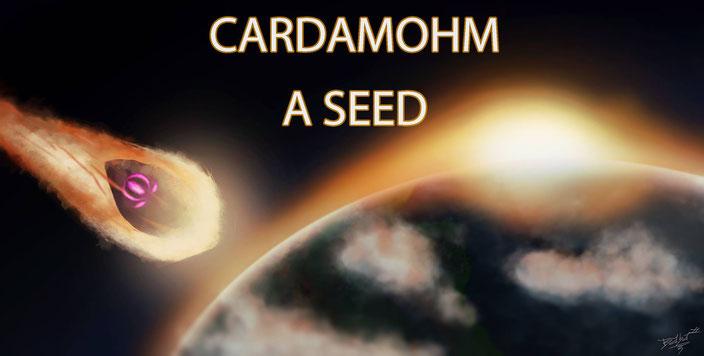 Speed painting réalisé par Baba Shikoine pour la campagne de financement de l'album A Seed