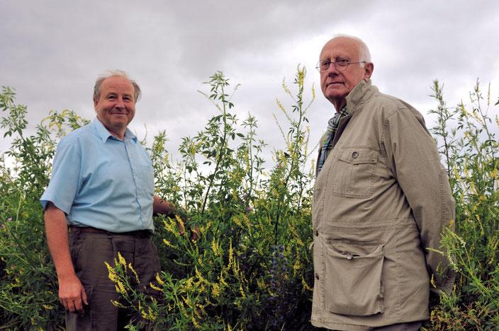 Friedrich Bellgardt und Ottfried Weber