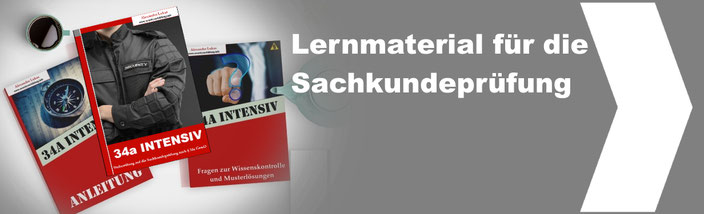 Lernmaterial Sachkundeprüfung 34a GewO