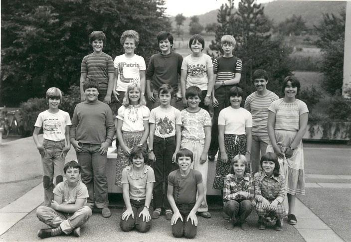 4./5. Klasse 1981/82 (Lehrer: Christoph Benz)