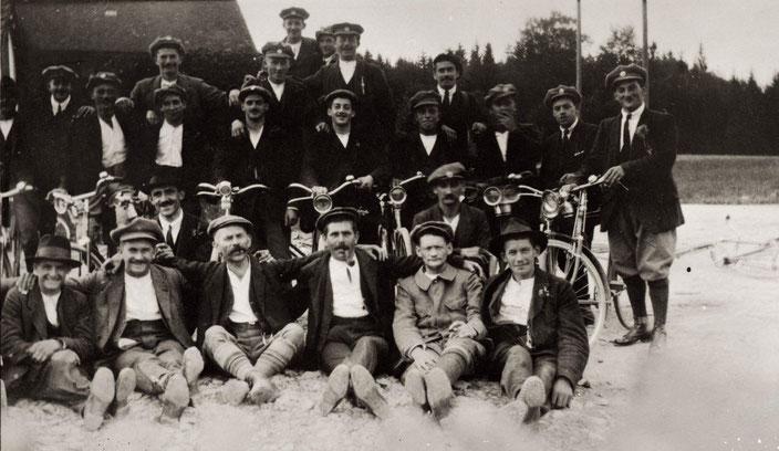 Ausfahrt des Veloclubs nach Todtmoos (17. Sept. 1921)