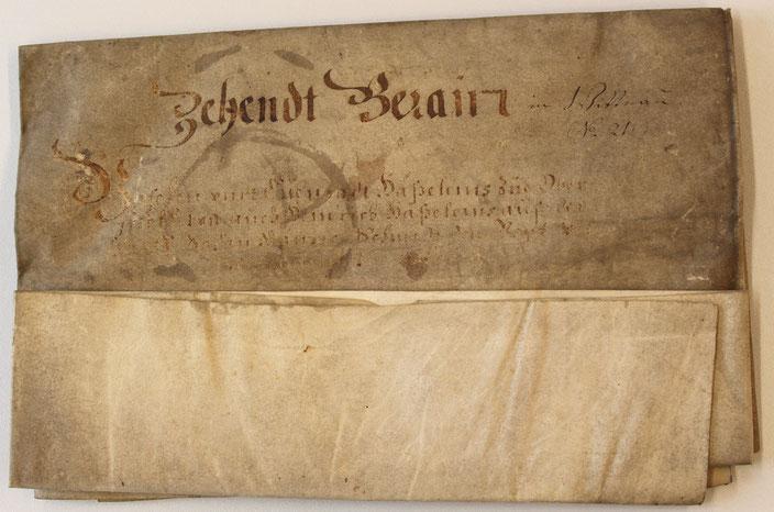 GA Wittnau: Berein 1660