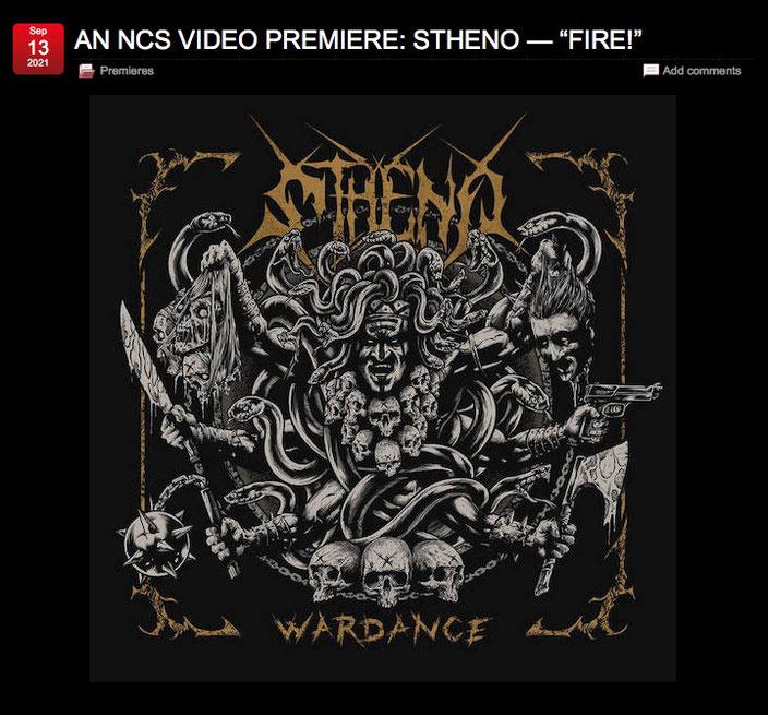 Stheno Fire! Video Premiere