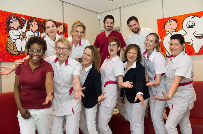 Team tandartspraktijk Badhuisplein Hardenberg