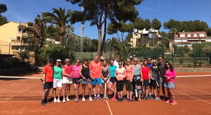 Die Teilnehmer der Mallorca-Tour 2018