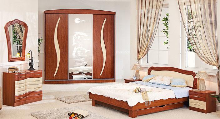 Красивая спальня купить в Кировограде не дорого. Скидка 20%