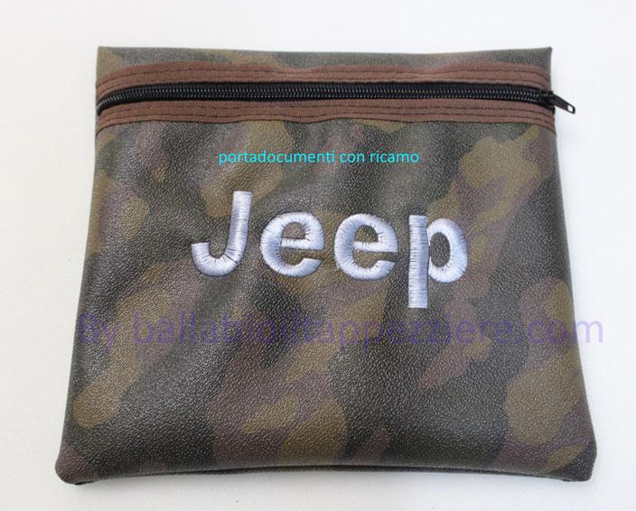 Portadocumenti in skay mimetico per vetture jepp By ballabioiltappezziere.com