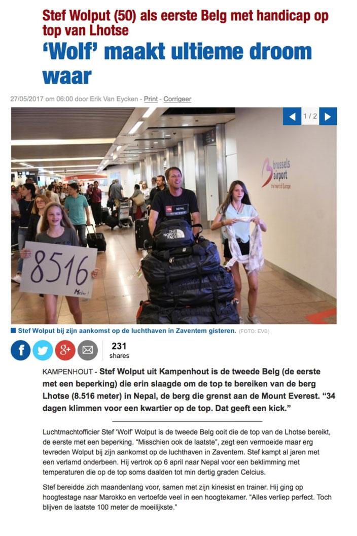 Het Nieuwsblad BE 27 mei 2017