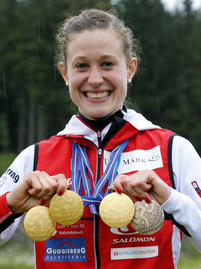 Das Jahr 2014 war das erfolgreichste Jahr mit 3 EM-Gold und 3 WM-Gold-Medaillien