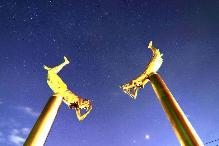 夜空舞う天女 金子和博様