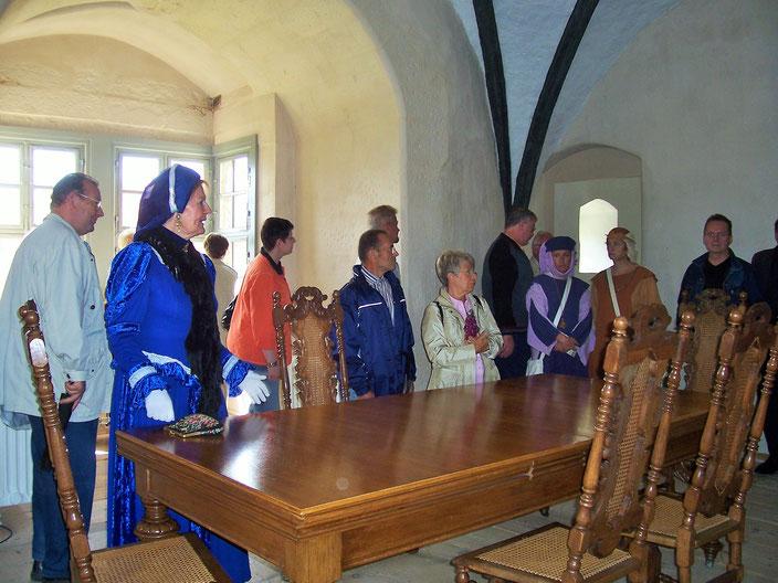 Herzogin Anna Sophie zeigt ihr Schloss