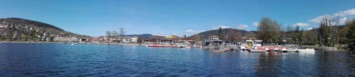 Lac de Gérardmer, le dimanche 23 avril 2017