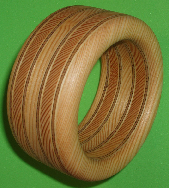 Wood Bracelet, Armreif, Swiss Hand Made