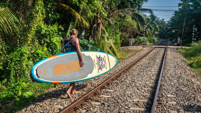 stand up paddeln in sri lanka, sup und reisen, reisen mit dem sup, reisen standuppaddeling