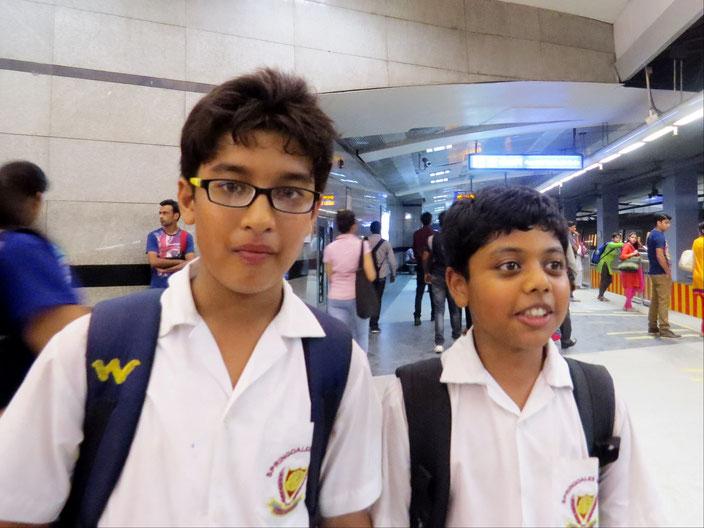 Indien Delhi grenzenlosunterwegs