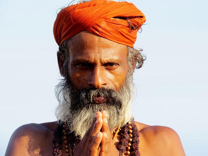 Sadhu Indien grenzenlosunterwegs