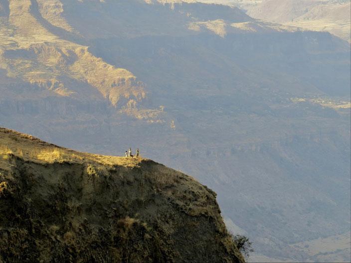 Berge Äthiopien grenzenlosunterwegs