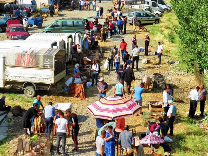 Albanische Märkte sind noch immer voller Überraschngen