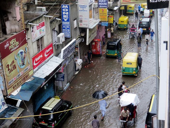 Delhi Indien grenzenlosunterwegs
