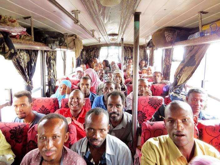 Äthiopien Bus grenzenlosunterwegs
