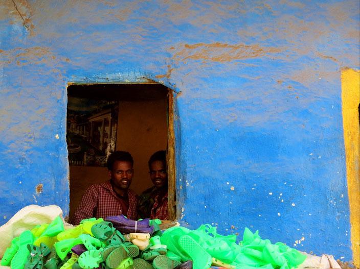 Schuhe Äthiopien grenzenlosunterwegs