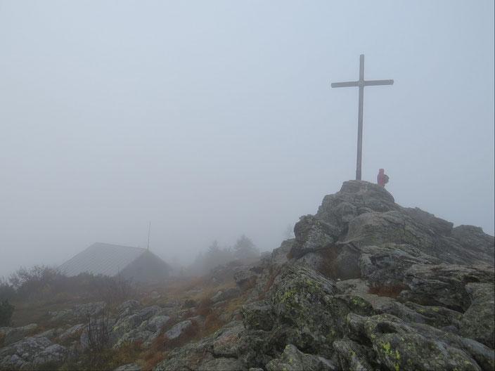 Großer Arber Gipfelkreuz - 1456 Meter