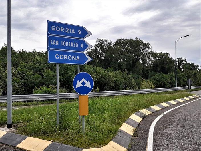 Die Ortschaft Corona gibt es tatsächlich